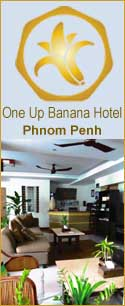 One Up Banana Hotel, Phnom Penh, Cambodia