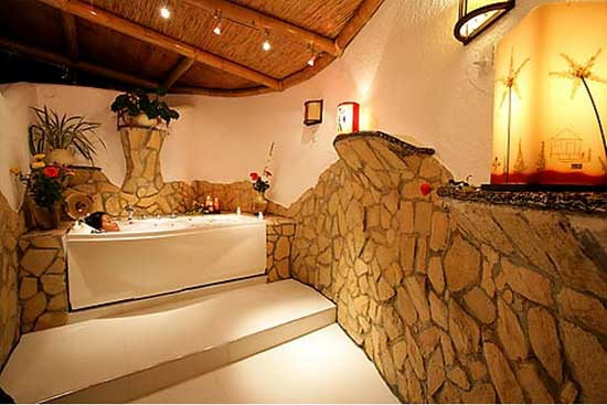Recently Opened Massage And Spa Which Includes An Authentic Sauna Imported From Finland A Jacuzzi Wet Room For Body Scrubs Rain Dance Shower