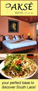 Pakse Hotel, Laos, Bolaven Plateau, 4000 Islands