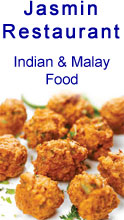 Jasmin Restaurant, Indian and Malay Food