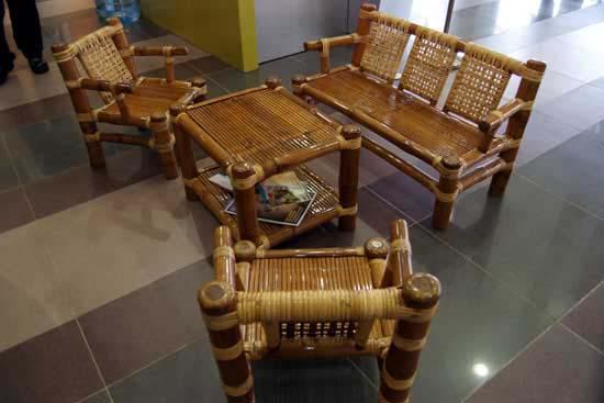 Buglas Bamboo Institute Treated Bamboo House Treated