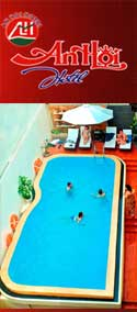 An Hoi Hotel, Hoi An Ancient Town, Vietnam, swimming pool, balcony, restaurant